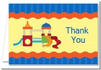 Playground - Birthday Party Thank You Cards