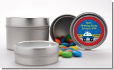Police Car - Custom Baby Shower Favor Tins