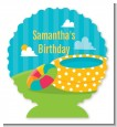Pool Party - Personalized Birthday Party Centerpiece Stand thumbnail