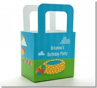 Pool Party - Personalized Birthday Party Favor Boxes
