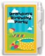 Pool Party - Birthday Party Personalized Notebook Favor thumbnail