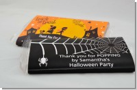 Halloween Party Popcorn Wrappers