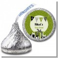 Posh Mom To Be Neutral - Hershey Kiss Baby Shower Sticker Labels thumbnail