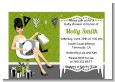 Posh Mom To Be Neutral - Baby Shower Petite Invitations thumbnail