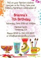 Pottery Painting - Birthday Party Invitations thumbnail