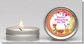 Pottery Painting - Birthday Party Candle Favors