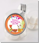Pottery Painting - Personalized Birthday Party Candy Jar