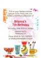 Pottery Painting - Birthday Party Petite Invitations thumbnail
