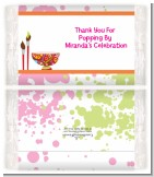 Pottery Painting - Personalized Popcorn Wrapper Birthday Party Favors