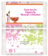 Pottery Painting - Personalized Popcorn Wrapper Birthday Party Favors thumbnail