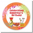Pottery Painting - Personalized Birthday Party Table Confetti thumbnail