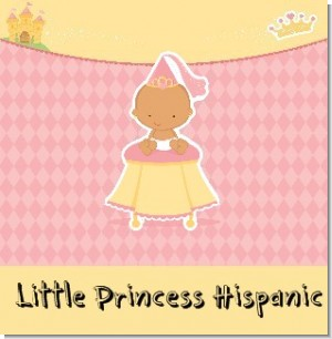 Little Princess Hispanic Baby Shower Theme
