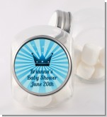 Prince Royal Crown - Personalized Baby Shower Candy Jar
