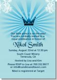 Prince Royal Crown - Baby Shower Invitations