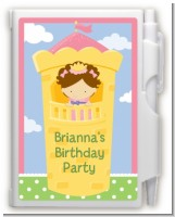 Princess in Tower - Birthday Party Personalized Notebook Favor