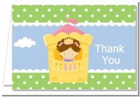 Princess in Tower - Birthday Party Thank You Cards