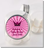 Princess Royal Crown - Personalized Baby Shower Candy Jar