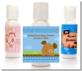 Puppy Dog Tails Boy - Personalized Baby Shower Lotion Favors