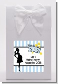 Ready To Pop Blue - Baby Shower Goodie Bags