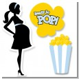 Ready To Pop Blue - Baby Shower Printed Shaped Cut-Outs thumbnail