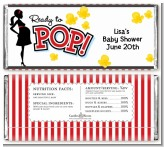 Ready To Pop - Personalized Baby Shower Candy Bar Wrappers