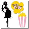 Ready To Pop Pink - Baby Shower Printed Shaped Cut-Outs thumbnail