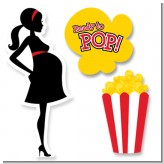 Ready To Pop - Baby Shower Printed Shaped Cut-Outs