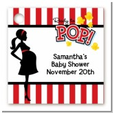Ready To Pop - Personalized Baby Shower Card Stock Favor Tags