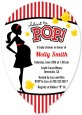 Ready To Pop - Baby Shower Shaped Invitations thumbnail