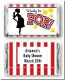 Ready To Pop - Personalized Baby Shower Mini Candy Bar Wrappers thumbnail