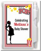 Ready To Pop - Baby Shower Personalized Notebook Favor