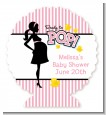 Ready To Pop Pink - Personalized Baby Shower Centerpiece Stand thumbnail