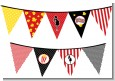Ready To Pop - Baby Shower Themed Pennant Set thumbnail