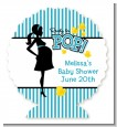 Ready To Pop Teal - Personalized Baby Shower Centerpiece Stand thumbnail