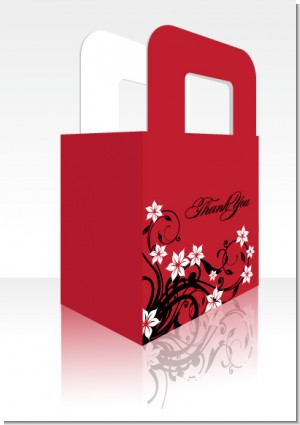 Floral Blossom - Personalized Bridal Shower Favor Boxes