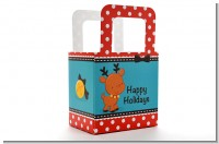 Rudolph the Reindeer - Personalized Christmas Favor Boxes