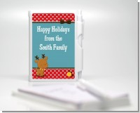 Rudolph the Reindeer - Baby Shower Personalized Notebook Favor