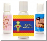 Robot Party - Personalized Birthday Party Lotion Favors