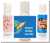 Rocket Ship - Personalized Baby Shower Lotion Favors
