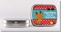 Rudolph the Reindeer - Personalized Christmas Mint Tins