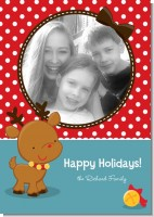 Rudolph the Reindeer - Personalized Photo Christmas Cards