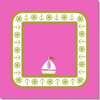 Sailboat Pink Birthday Party Theme
