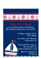 Sailboat Blue - Baby Shower Petite Invitations thumbnail