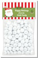 Santa Claus - Custom Christmas Treat Bag Topper