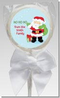 Santa's Green Bag - Personalized Christmas Lollipop Favors