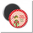 Santa's Little Elf - Personalized Christmas Magnet Favors thumbnail