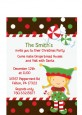Santa's Little Elfie - Christmas Petite Invitations thumbnail
