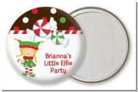 Santa's Little Elfie - Personalized Christmas Pocket Mirror Favors