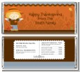 Scarecrow Fall Theme - Personalized Baby Shower Candy Bar Wrappers thumbnail