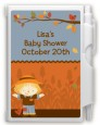 Scarecrow Fall Theme - Baby Shower Personalized Notebook Favor thumbnail